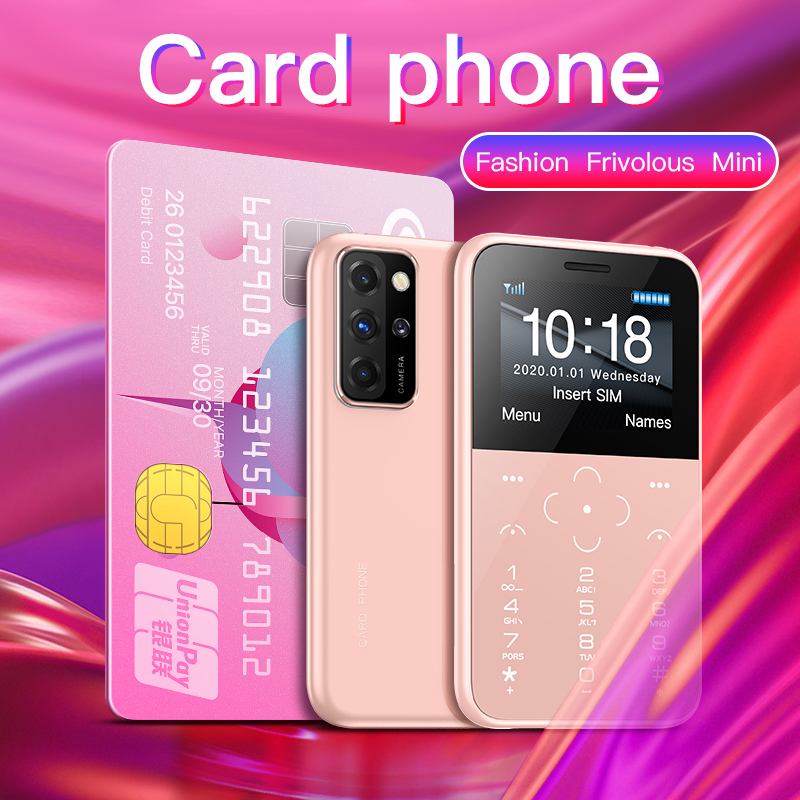 SOYES S10P 2G Network Mini SmartPhone 1.8inch 400mAh With SOS Torch MP3 Anti-lost Ultra-thin Portable Mini Card Phone