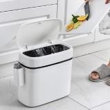 Multifunction Bathroom Trash Can Wastebasket Toilet Brush Toilet Garbage Bin Waste Dustbin Restroom