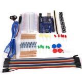 13 in 1 Starter Kit Mini Breadboard LED Jumper Wire Button for Arduino Compatile with UNO R3