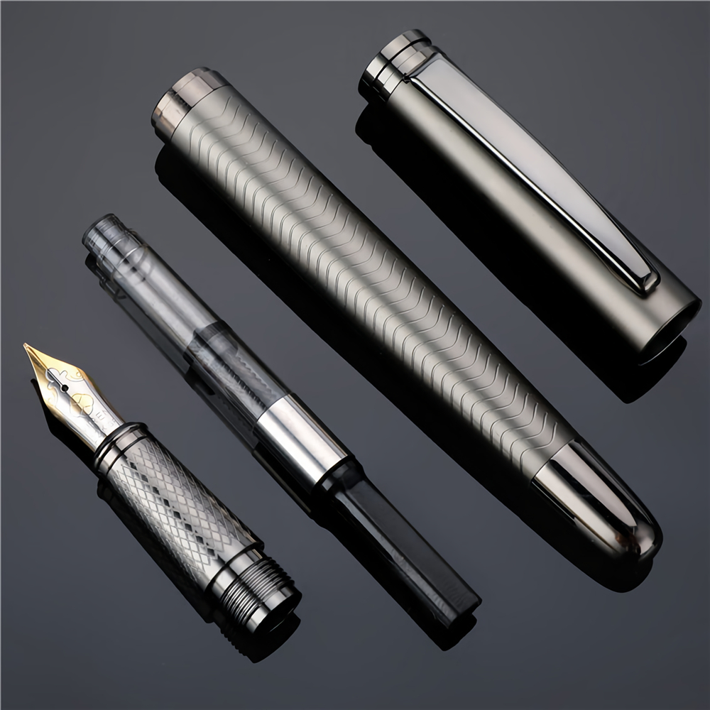 0.5/1.0mm Nib Fountain Pen Business Writing Signing Calligraphy Pens Gift Box Office Stationery Supplies Writing Supplies