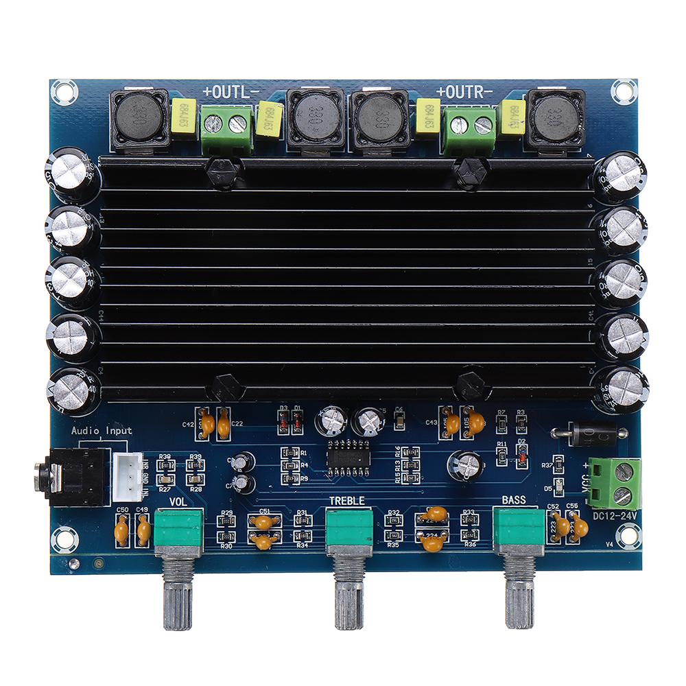 TPA3116D2 150W Digital Power Amplifier Board Digital Audio Amplifier Board 2.0 Channel with Acrylic Shell