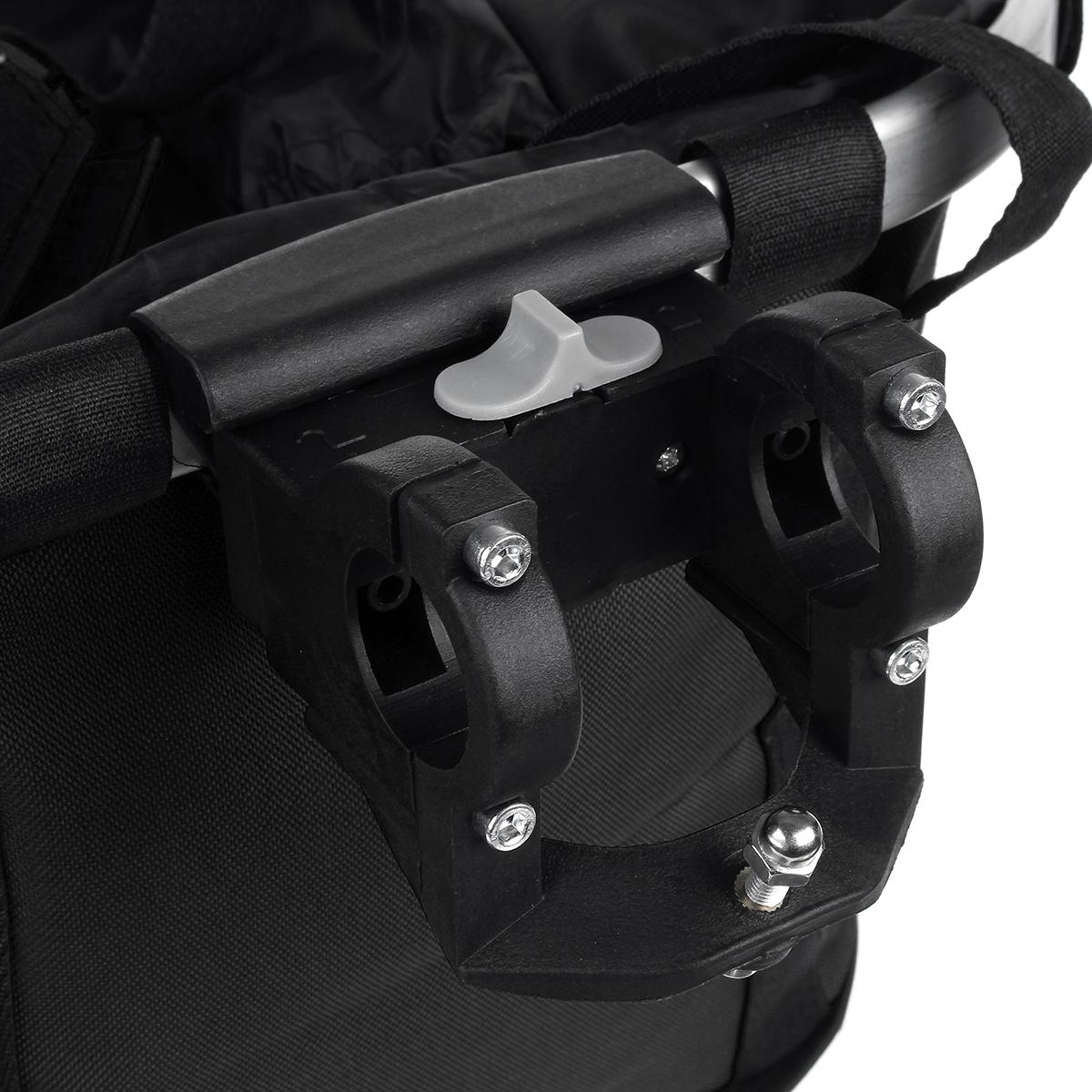 33x28x25CM Foldable Bicycle Front Basket Bike Handlebar Basket Pet Dog Carrier MTB Road Bike Frame Bag