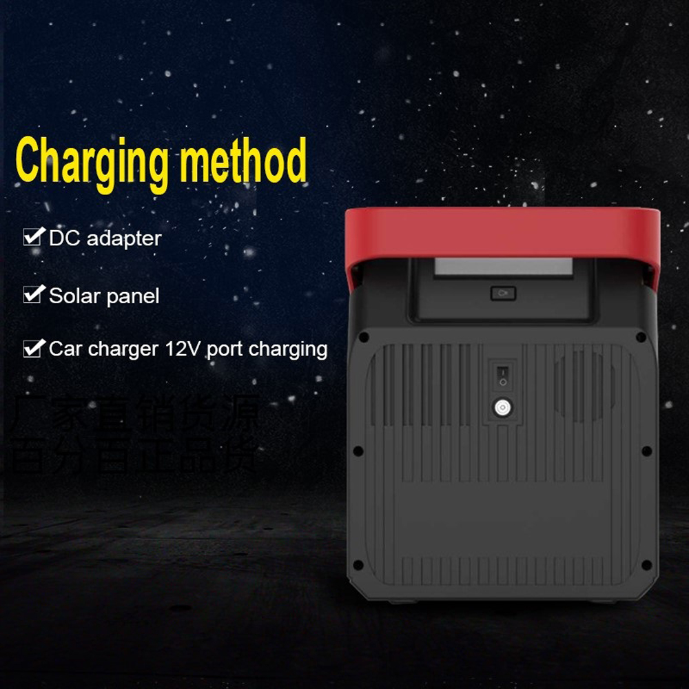 Bakeey S328 222Wh 60000mAh 100W Portable Solar Generator Smart Energy Storage Solar Battery Power Bank For Outdoor Camping Emergency