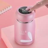 KCASA 320ml Thermos Water Bottle Temperature Display Thermo Cup 304 Stainless Steel Smart Display Temperature Vacuum Flasks Mug Bottles 320ml
