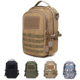 """8"""" Nylon Tactical Molle Phone Pouch Waist Pack Bag Combat Military EDC Gadget Hunting Pouch Outdoor Camping Bags Equipment"""