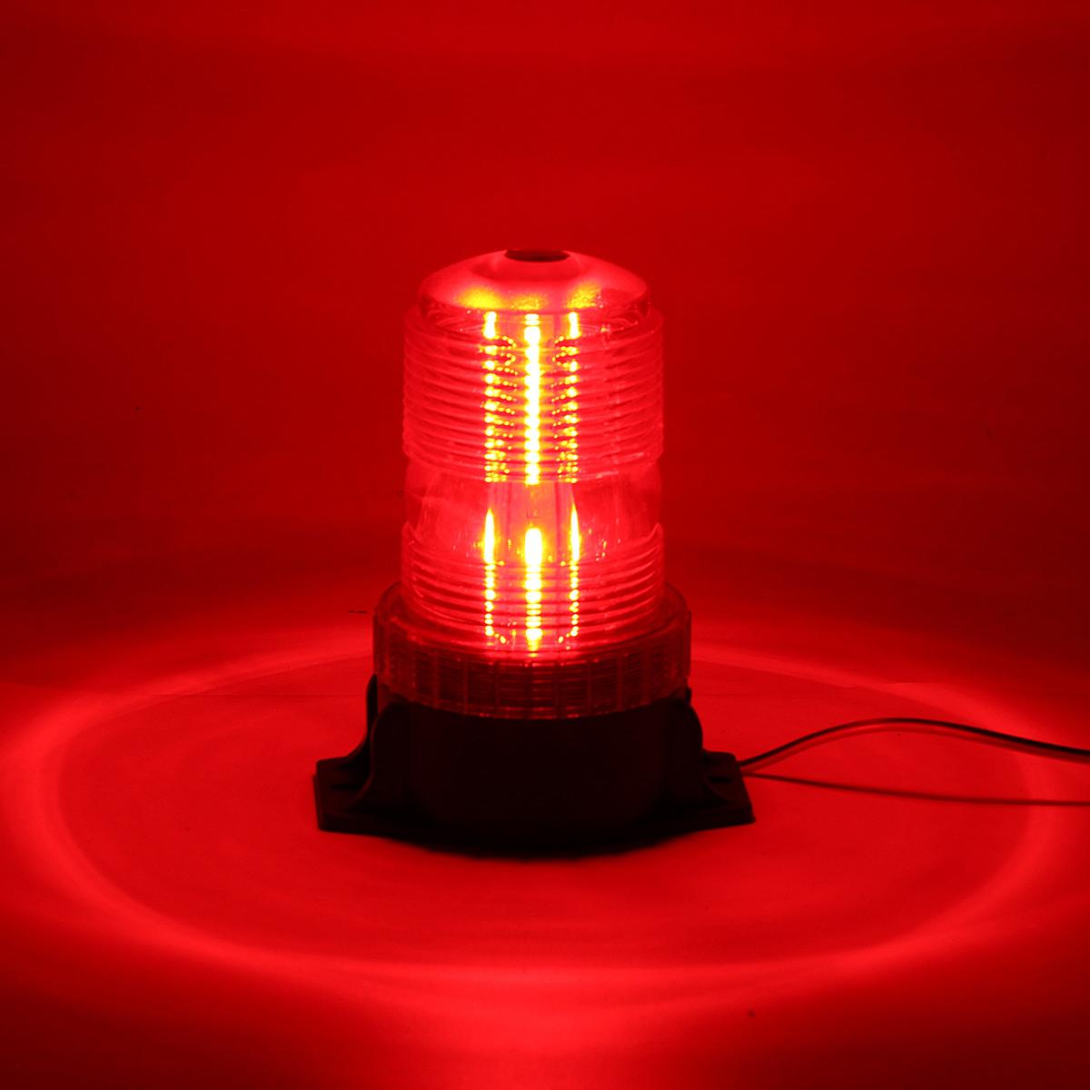 12-24V 30 LED Roof Rotating Beacon Strobe Tractor Warning Light Lamp