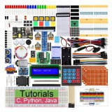 Aoqdqdqd Ultimate Starter Kit for Raspberry Pi 4 B 3 B+ Learning Electronics and Programming
