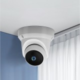 Xiaovv Q1 1080P H.265 Dome Pan Tilt WIFI Indoor Outdoor AI IP Camera 360 Onvif Night Vision APP Control Moving Detection Home Security Camera Baby Monitor