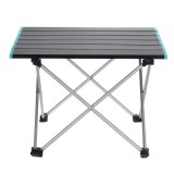 Yuntu ZD01 Portable Folding Aluminum Table Lightweight Camping Picnic with Bag for Outdoor-S/M/L