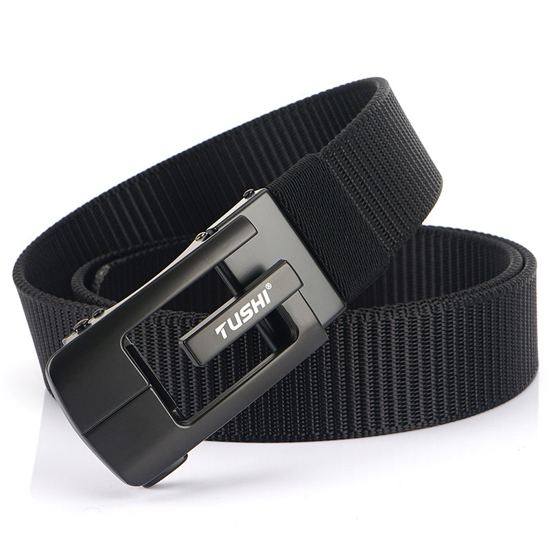 TUSHI 125cm Tactical Belts Zinc Alloy Quick Release Nylon Body Belt Camping Hunting Climbing