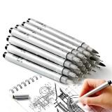 Superior MS-807A 10Pcs Waterproof Neddle Pen Precision Micro-Line Pens Black Micro-Pen Fineliner Ink Pen Waterproof Calligraphy Artist Illustration Anime Sketching Pen Set