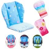 Baby High Chair Cushion Cover Kids Children Booster Mats Pads Feeding Chair Cushion Stroller Seat Cushion Pure Cotton Fabric