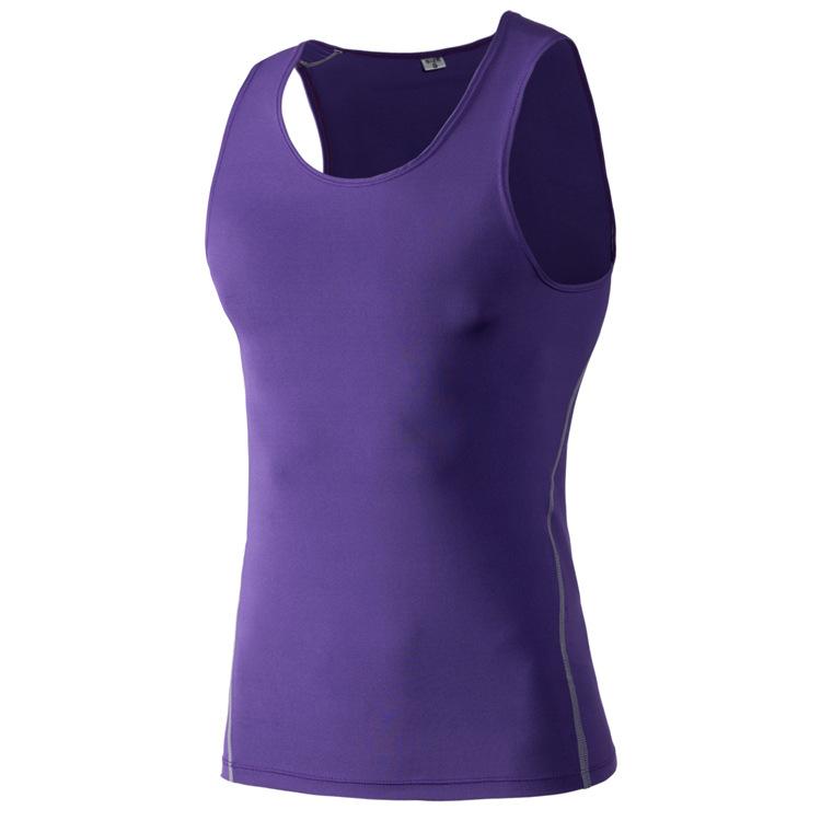 YUERLIAN Mens Sport T Shirts Gym Shirt Running Vest Compression Gym Top Men Training T-Shirt Workout Clothes Bodybuilder