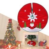 2020 Christmas Decor Santa Claus Christmas Tree Skirt Aprons New Year Xmas Tree Carpet Foot Cover for Home Decoration
