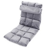 Adjustable 14-Position Floor Chair Cushion Folding Lazy Gaming Sofa Chair Pillow Cushion Home Office Small Sofa