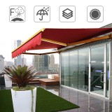 2×1.5M Outdoor Garden Patio Awning Cover Canopy Sun Shade Shelter Waterproof UV Resistant Awning