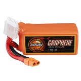 URUAV GRAPHENE 6S 22.2V 1550mAh 130C Lipo Battery XT60 Plug for RC Racing Drone