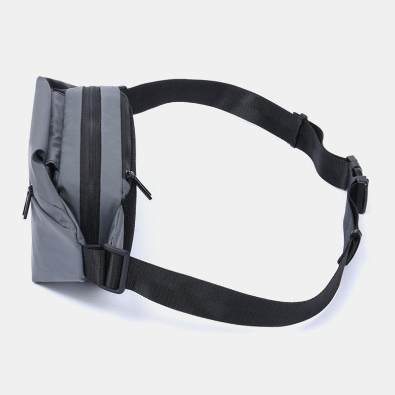 Men Multi-carry Anti-theft Waterproof Casual Crossbody Bag Chest Bag Sling Bag