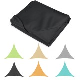 Sun Shade Sail Waterproof 420D Oxford Polyester Canopy Cover Awning Garden Yard Plant Protection