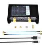 LZSAA-2 V2 50KHz-3GHz Vector Network Analyzer 2.8 Inch Digital Nano VNA Tester MF HF VHF UHF USB Logic Antenna Analyzer Standing Wave