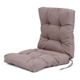 High Back Chair Cushion Waterproof Sofa Recliner Chair Cushion Seat Back Pad Tatami Mat for Office Home Patio Backyard Garden