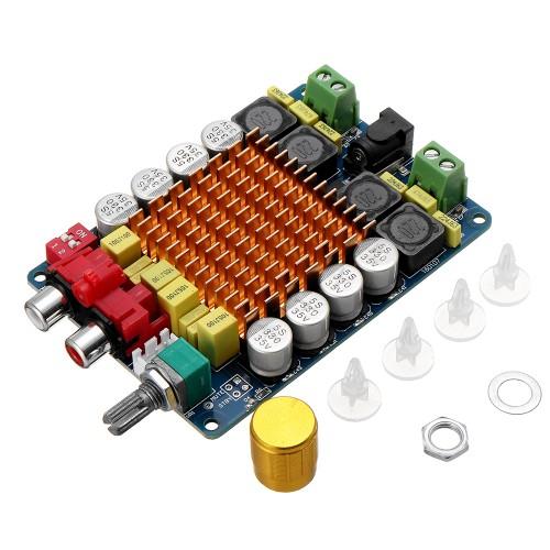 TDA7498 Stereo Dual Channel 2X100W Digital High Power Amplifier Board Audio Computer Class D Audio Amplifier