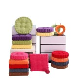 Square Round Seat Cushion Corduroy Indoor Outdoor Home Office Ultra Soft Seat Back Cushion Chair Pad Sofa Mat