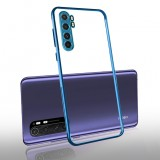 Bakeey for Xiaomi Mi Note 10 Lite Case 2 in 1 Plating Lens Protect Ultra-thin Anti-fingerprint Shockproof Transparent Soft TPU Protective Case