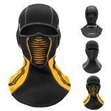 ROCKBROS Balaclava Winter Ski Cycling Mask Windproof Fleece Warm Hat Scarf Men Thermal Face Mask Cover