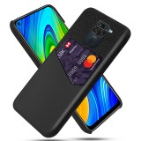 Bakeey for Xiaomi Redmi Note 9 / Redmi 10X 4G Case Luxury PU Leather + Cloth with Card Slot Shockproof Anti-scratch Protective Case