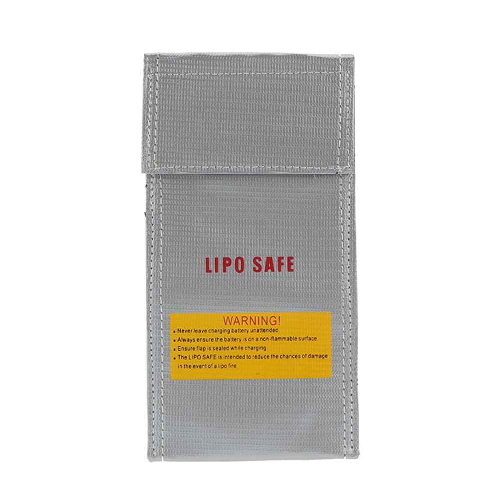 Explosion Waterproof Proof Lipo Battery Safety Bag Sliver 30X23cm for RC Battery