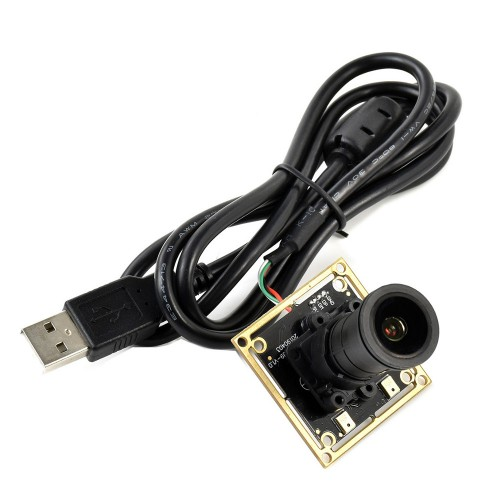 Waveshare IMX335 5MP USB Camera (A) Large Aperture 2K Video Recording Plug-and-Play Driver Free