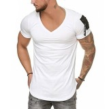 Summer Casual Short Sleeve T-shirt for men Breathable Quick-Dry Fitness Casual Shirts Leisure Sport Gym Clothing