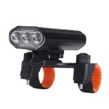 XANES 3xT6 Rechargeable Bike Light Super Bright IPX6 Waterproof LED Bicycle Headlight 5 Modes Bike Front Light Cycling Fishing