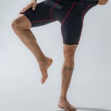 Mens Stretch Slim Sport Quick Dry Pocket Mid Waist Breathable Thin Fitness Shorts