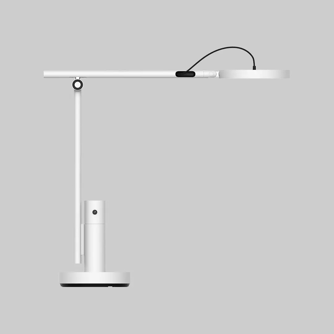 ChuangMi XiaoBai CMTD28A Smart Desk Lamp 1080P Real-Time Video Call Stepless Dimming Light Sensor Eye Protection Lamp APP Control Works with Mijia