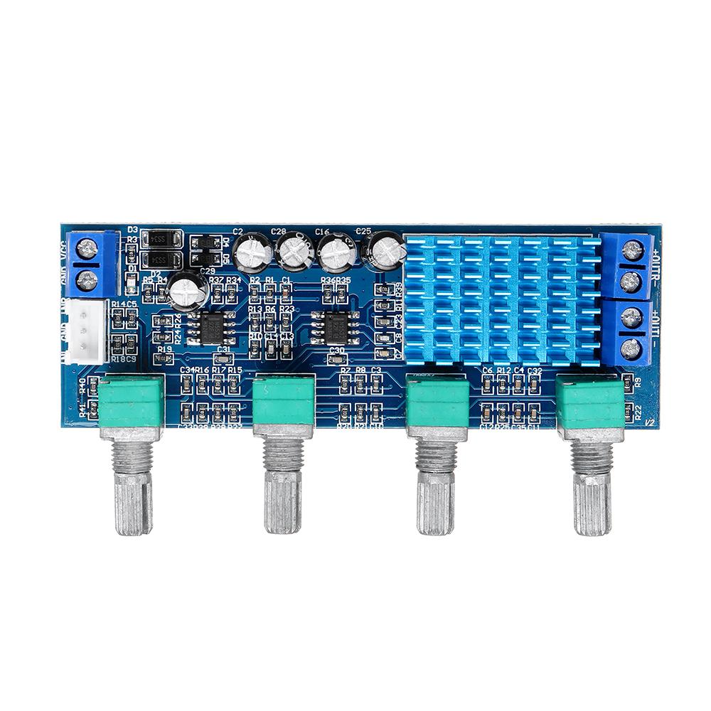 XH-M577 TPA3116D2 12-24V Digital Power Amplifier Board Audio Amplifier Board 80W*2 High Power Tone Board
