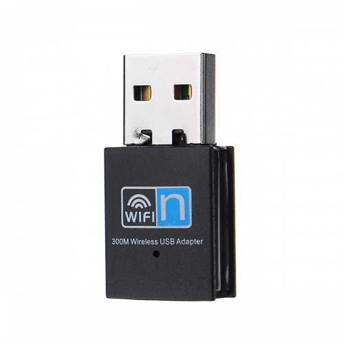 300M Wireless USB2.0 Adapter WiFi Dongle Network LAN Card 2.4G 802.11n Wifi Receiver Transmitter