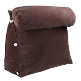 Sofa Back Cushion Bed Couch Seat Rest Pad Reading Waist Support Backrest with Head Cushion Pillow Home Office Furniture Decorations