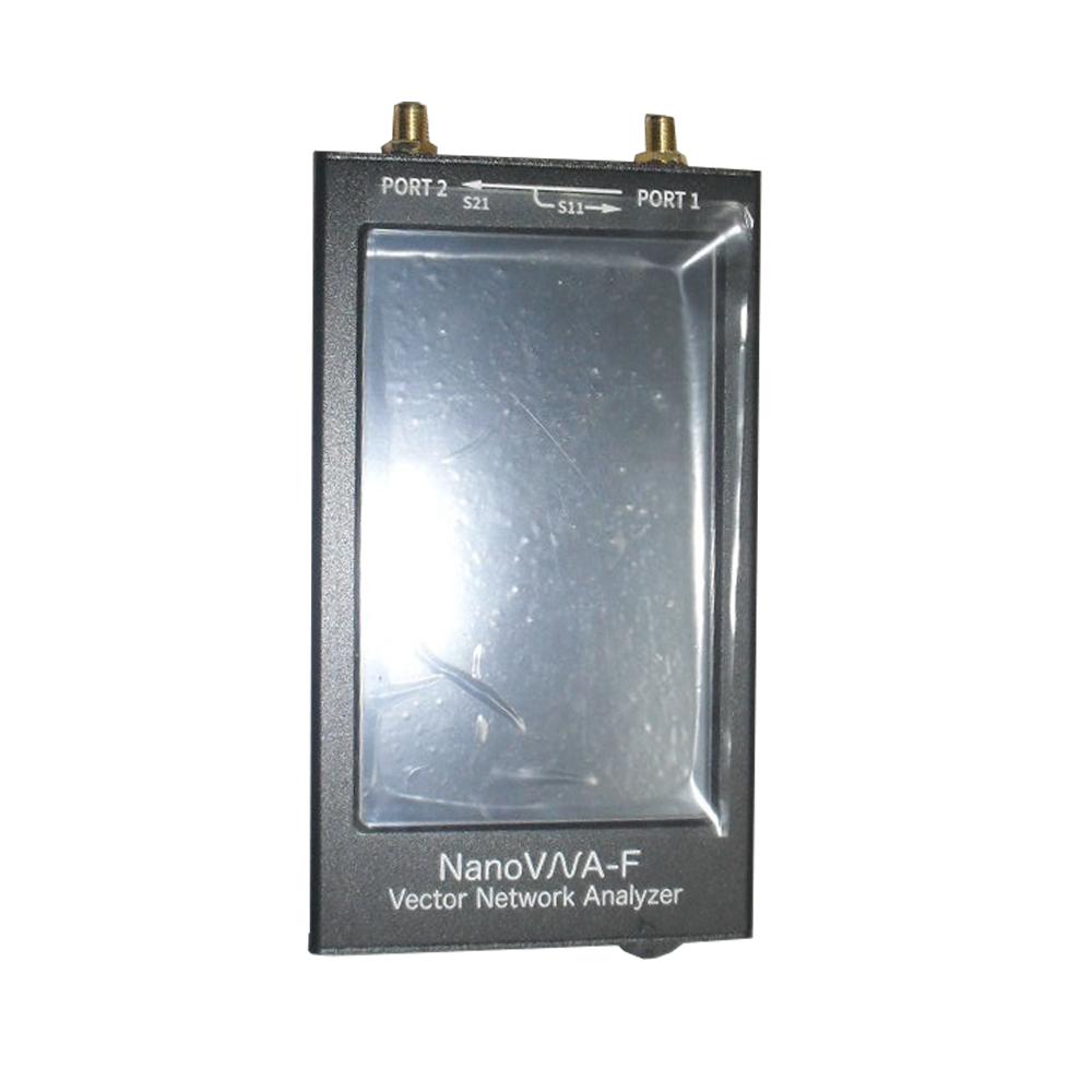 LZNanoVNA-F 50KHz-1500MHz Vector Network Analyzer 4.3 Inch Digital Nano VNA Tester MF HF VHF UHF USB Logic Antenna Analyzer Standing Wave