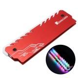 Jonsbo NC-3 RGB Colorful Backlit Aluminium Mg Alloy Memory Cooling Clamp Heatsink Computer Memory Cooler
