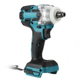 Raitool 18V Cordless Brushless Impact Wrench Screwdriver Stepless Speed Change Switch For 18V Makita Battery