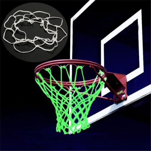 Nightlight Basketball Net Nylon Luminous Replacement Basketball Net Outdoor Sport