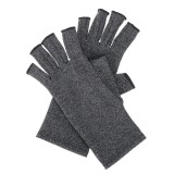 Anti Slip Compression Arthritis Gloves for Arthritis Pain Relief Rheumatoid Osteoarthritis and Carpal Tunnel Fingerless Gloves for Typing and Daily Work