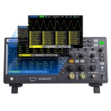 Hantek DSO2D10 Digital Oscilloscope 2CH+1CH Digital Storage 1GS/s Sampling Rate 100MHz Bandwidth Dual Channel Economical Oscilloscope with Signal Source(AWG)