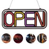 OPEN LED Neon Sign Bar Club Shop Display Studio Window Wall Light Visual Artwork