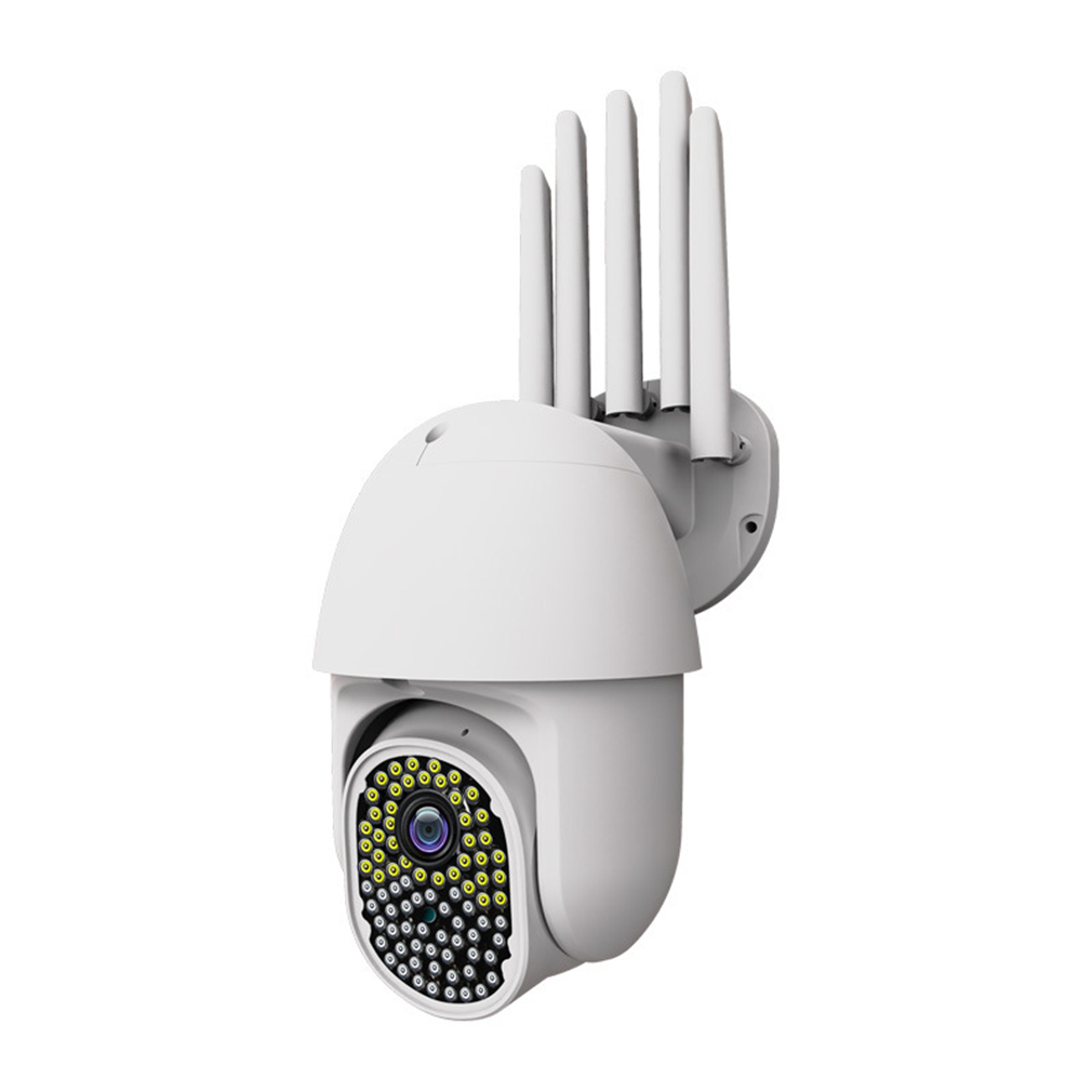 MZWS V380 82 LED 2MP WIFI Security Camera WiFi 1080P Wireless Speed Dome CCTV PTZ Onvif Outdoor Infrared Night Vision IP Camera