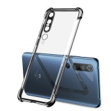 Bakeey for Xiaomi Mi10 Mi 10 Pro Case 2 in 1 Plating with Airbag Lens Protector Ultra-Thin Anti-Fingerprint Shockproof Transparent Soft TPU Protective Case