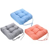 Outdoor Chair Cushion Waterproof Sofa Padded Cushion PP Cotton with Bandage Home Office Student Seat Supplies