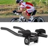 Cycling Bike Rest Handlebar Aero Bar Bicycle Relaxation Handle Bar Triathlon MTB Road Bike Arm Rest Bar Bike Aerobar TT Bar
